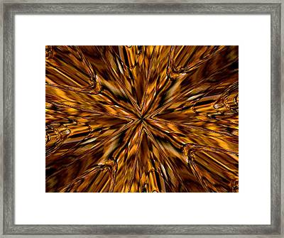 Framed Print featuring the photograph Honey Flow by David Dunham