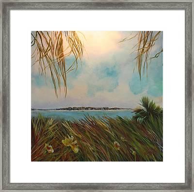 Honeymoon Island Framed Print by Michele Hollister - for Nancy Asbell