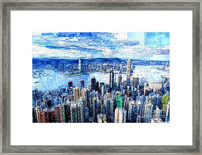 Hong Kong, China Framed Print