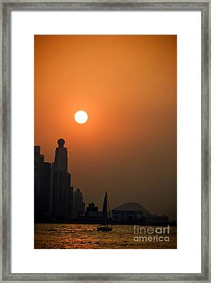 Hong Kong Coast Framed Print by Ray Laskowitz - Printscapes