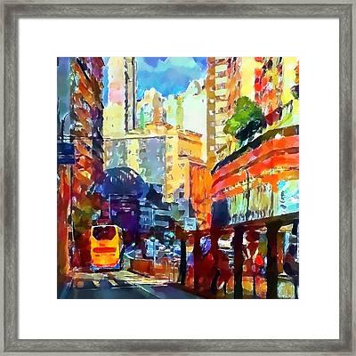 Hong Kong Colors 2 Framed Print by Yury Malkov