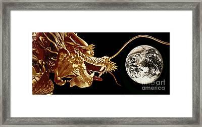 Hong Kong Dragon  Framed Print by Juergen Held