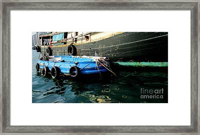 Hong Kong Harbor 22 Framed Print by Randall Weidner