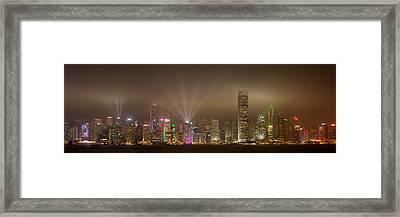 Hong Kong Island Framed Print by Daniel Murphy
