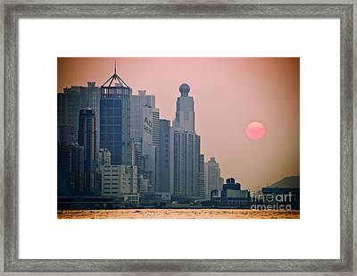 Hong Kong Island Framed Print by Ray Laskowitz - Printscapes