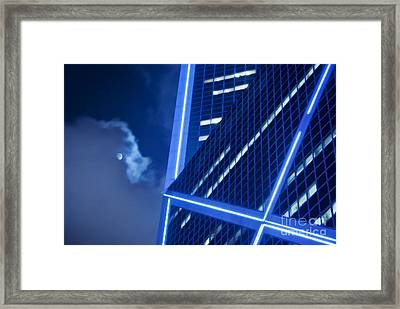 Hong Kong Moonlight Framed Print by Ray Laskowitz - Printscapes