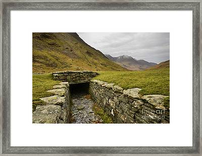 Honister Pass Framed Print by Nichola Denny