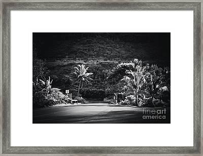 Framed Print featuring the photograph Honokohau Maui Hawaii by Sharon Mau