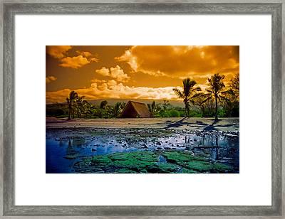 Honokohau Framed Print