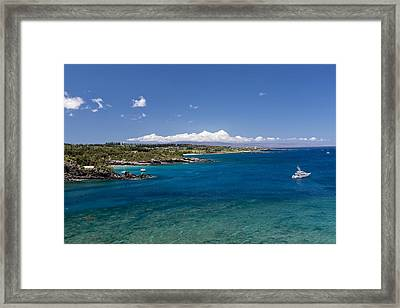 Honolua Bay Framed Print