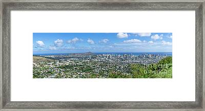 Honolulu  Framed Print