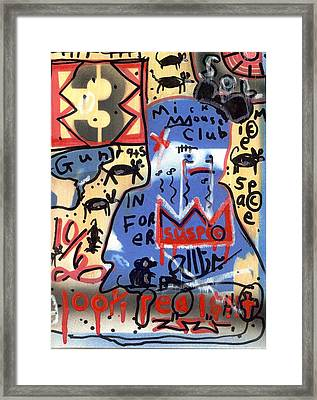 Honor Among Thieves Framed Print by Robert Wolverton Jr