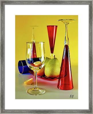 Honor To  Mondrian  Framed Print