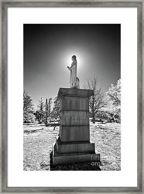 Honoring Firemen And Firewomen Framed Print by Dan Carmichael