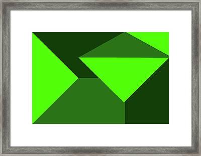 Honoring St Patrick Framed Print