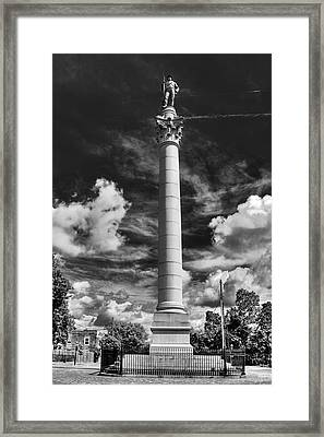 Honoring The Fallen Framed Print by Tim Wilson