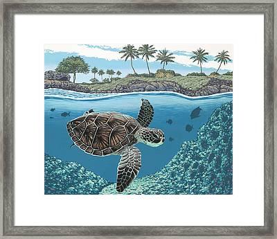 Honu Framed Print