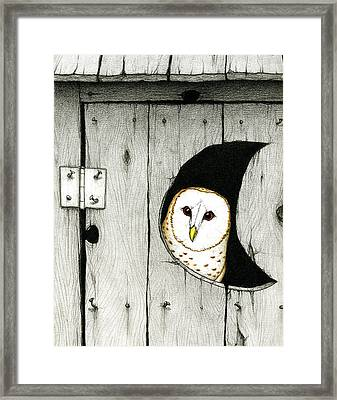Hoo Tooted Framed Print