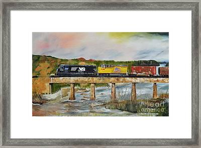 Hooch - Chattahoochee River - Columbus Ga Framed Print
