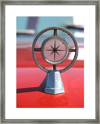 Hood Art Framed Print by Kelly Mezzapelle