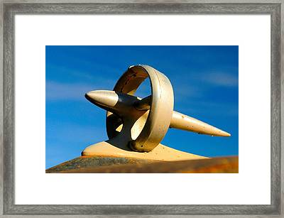 Hood Ornament  Framed Print