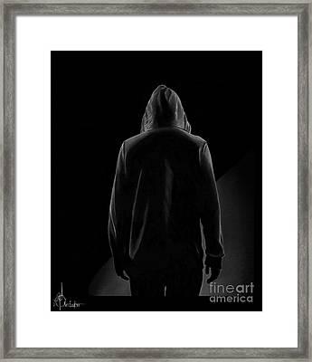 Hoodie Framed Print