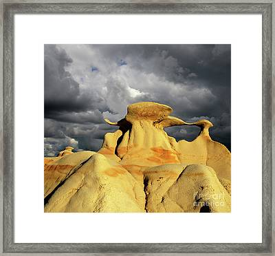 Hoodoo You Love? Framed Print by Bob Christopher
