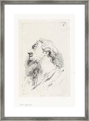 Hoofd Van Christus Framed Print