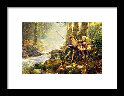 Golden Retriever Framed Prints