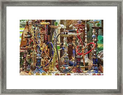 Hookahs Framed Print by Patricia Hofmeester