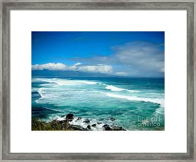 Hookipa Beach  Framed Print by Kelly Wade