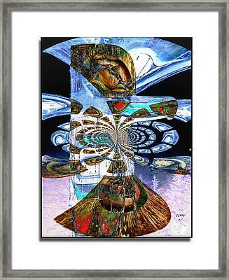 Hoonah Totem Framed Print
