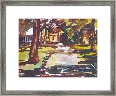 Hooter's Ridge Framed Print