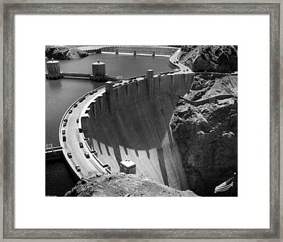 Hoover Dam, 1948 Framed Print by Everett