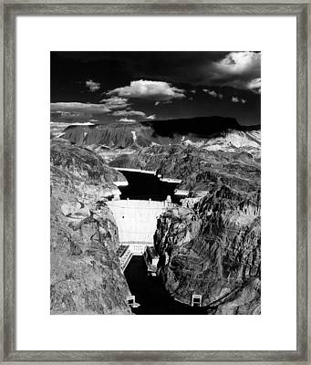 Hoover Dam, 1953 Framed Print by Everett