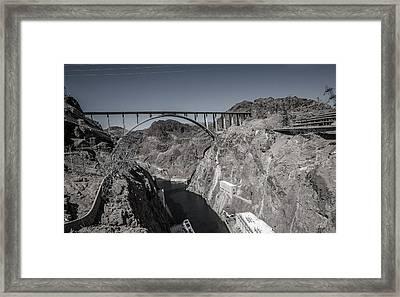 Hoover Dam Bridge Framed Print