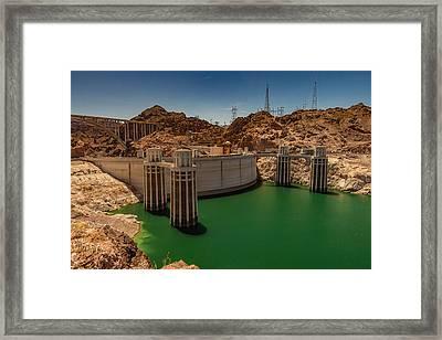 Hoover Dam Framed Print by Ed Clark