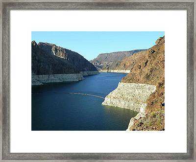 Framed Print featuring the photograph Hoover Dam In May by Emmy Marie Vickers