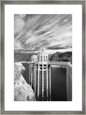 Hoover Dam Intake Towers No. 1-1 Framed Print