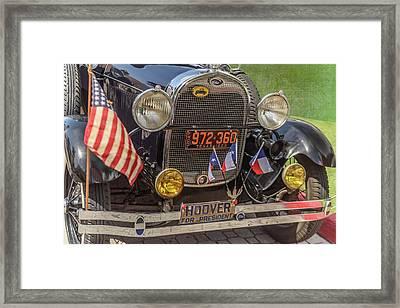 Hoover Era Ford Framed Print