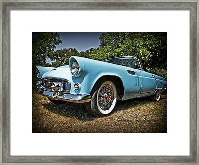 Hop In For A Ride Framed Print