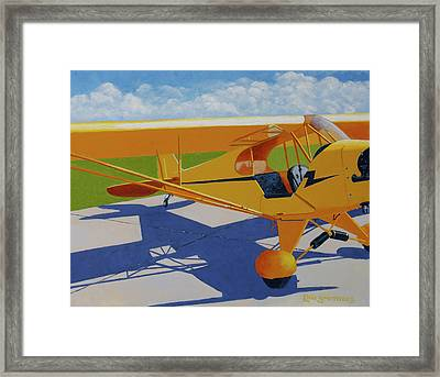 Hop In Framed Print