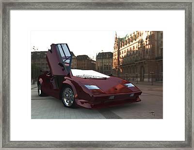 Hop In Framed Print by Steven Palmer