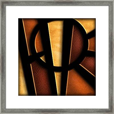 Hope - Abstract Framed Print by Shevon Johnson