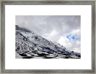 Hope Above Framed Print by Olivier Le Queinec