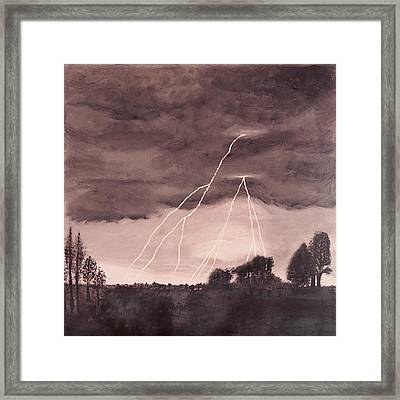 Hope After The Storm Framed Print by Dawn Hay