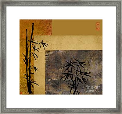 Hope And Bamboo Framed Print