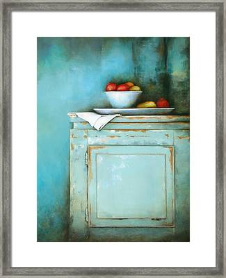 Hope And Charity Framed Print
