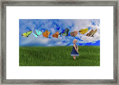 Hope Framed Print by Betsy Knapp