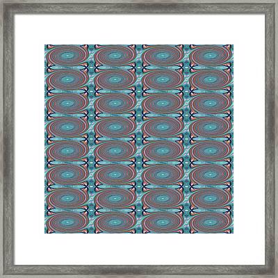 Hope Does Spring Eternal - T J O D 31 Arrangement 1 Swirled Tile 4x8 Framed Print by Helena Tiainen